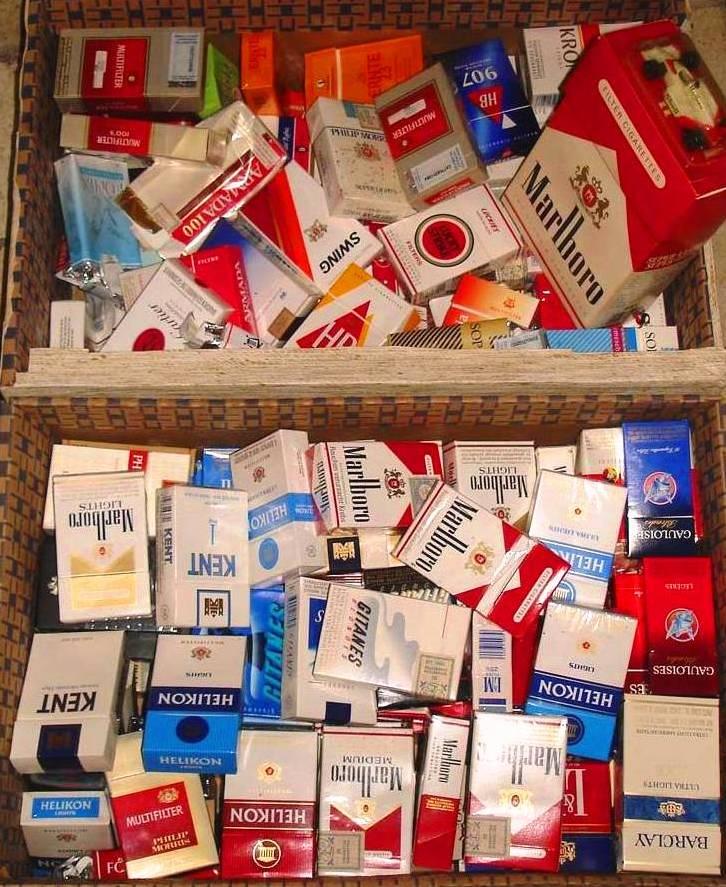 Paquet de cig